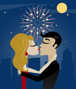 The Pressure of a New Year's Kiss!